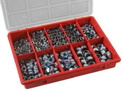 DURATOOL D01836  Lock Nut Kit 350Pcs